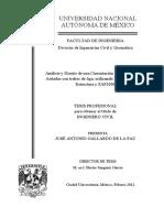 Analisis y Diseño de Una Cimentacion a Base de Zapatas Aisladas Con Trabes de Liga