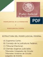 Estructura Del Poder Judicial Federal
