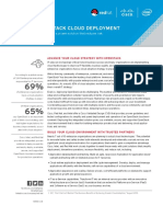 Cisco, Intel, And Red Hat Deliver a Cloud Deployment Solution That Reduces Risk