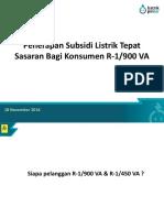 3. Penerapan Subsidi Listrik Tepat Sasaran Bagi Konsumen R-1900 VA(1)