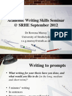 62 Rowena Murray Writing Skills Sept 12