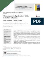 Arab Journal of Urology Volume 12 Issue 2 2014 [Doi 10.1016%2Fj.aju.2013.11.006] Ghoniem, Gamal M.; Warda, Hussein a. -- The Management of Genitourinary Fistula in the Third Millennium