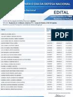 Dia da Defesa Nacional 2010 - Lista de Convocados da freguesia de Casal de Cambra
