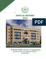 Annual Report FPSC