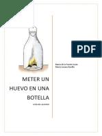 Cómo Meter Un Huevo en Una Botella - Guía Del Alumno