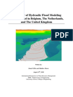 Review of Hydraulic Flood Modeling