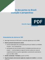 Regulação dos portos no Brasil