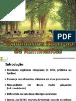 Vitaminas na nutrição de ruminantes
