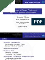 Fundamentals of Kalman Filtering