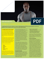 Extreme Conditioning Programs
