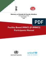Participants Manual Imnci