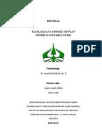 Referat Tatalaksana Stroke Dengan Hiperkoagubilitas (Autosaved)