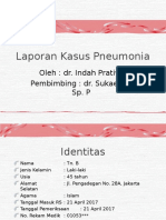 Laporan Kasus Pneumonia