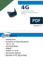 4G Mobile Technology