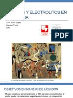 Liquidos y Electrolitos en Anestesio