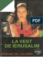 Gerard de Villiers SAS La Vest de Ierusalim v 1 0
