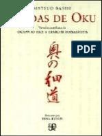 Matsuo Basho - Sendas de Oku