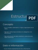 Estructura de Datos Introducción