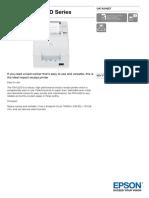 Epson TM U220D Series Datasheet