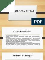 PATOLOGÍA BILIAR INTERNADO