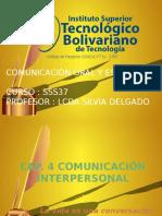 Capitulo 4 comunicacininterpersonal  jose paz