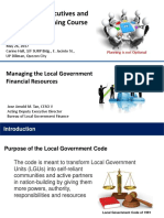 Managing Local Government Financial Resources