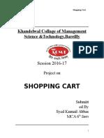 Shopping Cart Doc