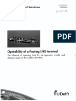 Operability of a Floating LNG Terminal