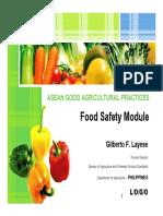 ASEAN GAP FoodSafetyModule