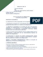 Programa Modificado de Derecho Civil III