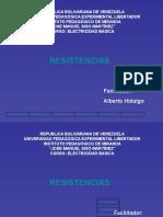 TUTORIAL INFORMATIVO DE RESISTENCIAS