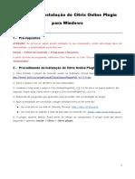 Manual Instalacao CitrixOnlinePlugin Windows