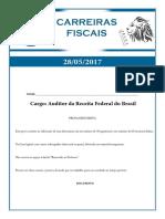 2017 05 28 Car Fiscais Auditor Discursiva Comentado
