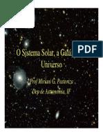 O Sistema Solar, a Galáxia e o Universo.pdf