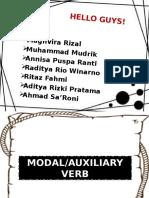 Modal Auxiliary Verb
