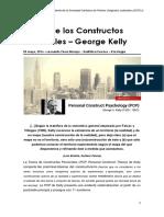 13 Teoría de Los Constructos Personales TCP George a. Kelly