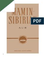 Mamin-Sibiriak, Dmitri N. - Aur (v1.0) FRI.docx