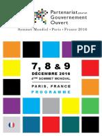 Programme Web Fr