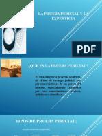 La Prueba Pericial y La Experticia.odp