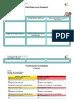 Formatos planificaciones