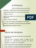 Albañileria - Muros No Portantews
