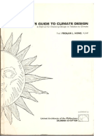 Architect's Guide to Climate Design