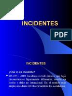 Cómo Reportar Incidentes