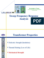 Sweep Frequency Response Analysis