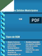 RESIDUOS SOLIDOS MUNICIPALES