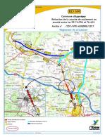 Plan Deviation RD 606 Couche Roulement Commune Appoigny