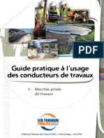 Guide Conducteurs Tvx Marches Prives