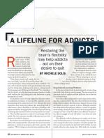 A Lifeline for Addicts