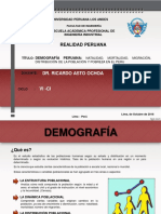 5. DEMOGRAFIA PERUANA