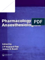Fee, Howard - Pharmacology for Anaesthesiologists  2005.pdf